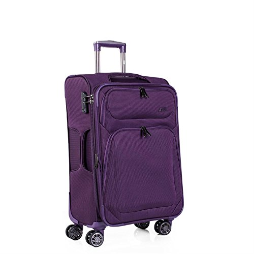 Trolley mediano extensible modelo Chicago - Morado