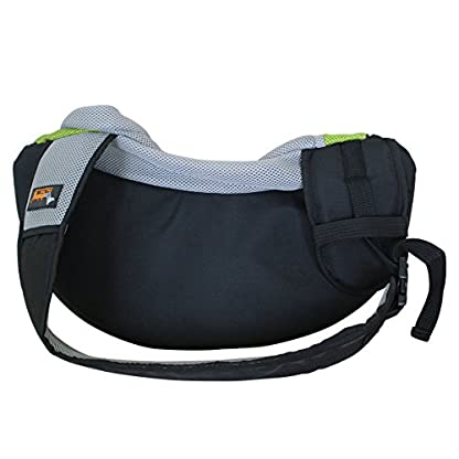 Ondoing Dog Carrier Cat Sling Bag Travel Tote Soft Comfortable Travel Bag Pet Mesh Front Carrier Head out for Small Dog… 2