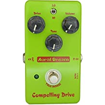 Aural Dream Compelling Drive High-Gain Blues Boosting 2 models Overdrive Guitar Effects Pedal True