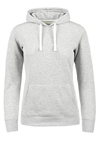 DESIRES Olive Damen Damen Hoodie Kapuzenpullover Pullover Mit Kapuze Und Fleece-Innenseite, Größe:M, Farbe:Light Grey Melange (8242)