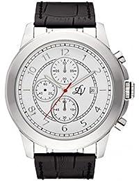 Reloj hombre Louis Villiers en acero blanco 47 mm lv1016