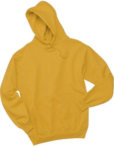 Wei§er Fu§ball auf American Apparel Fine Jersey Shirt Gold
