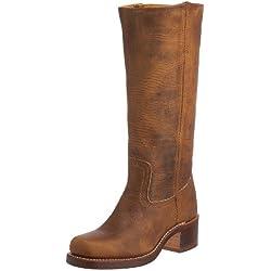 FRYE - Botas de cuero para mujer, Marrón (Dark Brown), 38 EU (5 UK)