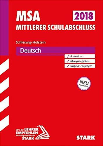 Original-Prüfungen und Training MSA - Deutsch - Schleswig-Holstein