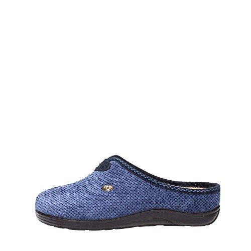 Grunland 98CELY CI0990 Ciabatta Donna Camoscio Blu Blu 36