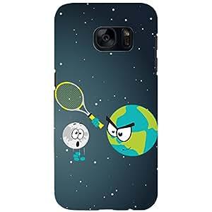 URBAN KOLOURS Original Designer Printed Hard Case Back Cover for Samsung Galaxy S7 (Earth Ball)