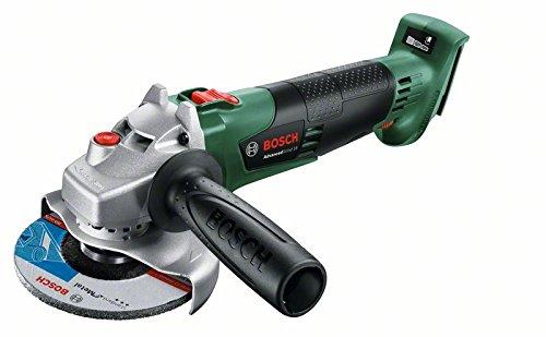 Preisvergleich Produktbild Bosch DIY Winkelschleifer Advancedgrind 18 ohne Akku, Karton, 18 V, Durchmesser 115 mm, 125 mm, 1 Stück, 06033D3100