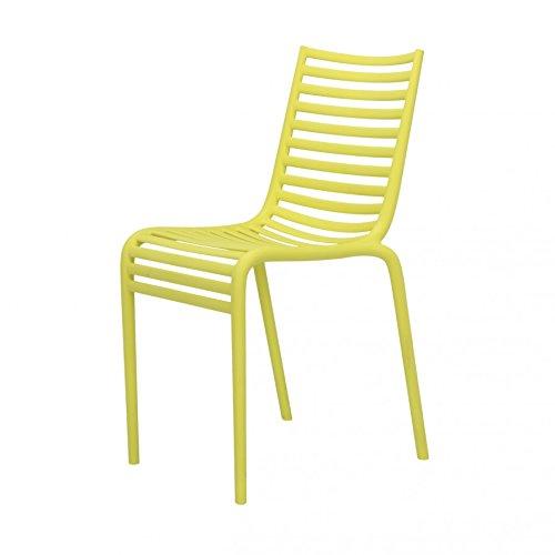 Pip-e Chair Stapelstuhl - gelb