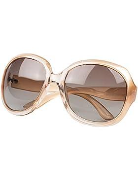 Mujer Oversized Gafas De Sol Polarizadas Protección UV400 Grande Marco - BLDEN