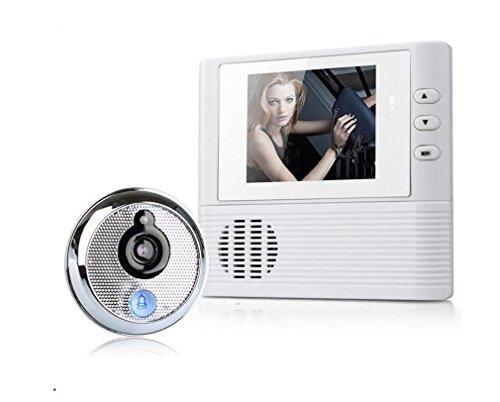 MTTLS Video Türklingel Smart Türklingel Sichtbar HD Home Security Kamera 2,8 zoll Video Türsprechanlage Nehmen ein Foto - Außerhalb Home-security-kameras Der