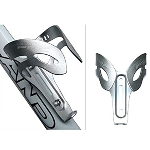LanLan Lightweight Cycling Road Aluminium Alloy Mountain Bike Bicycle Water Bottle Holder Cage Bracket Silver