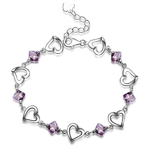 bracelet-amour-bracelet-argent-femme-bracelet-en-forme-de-coeur-bracelet-mme-purple