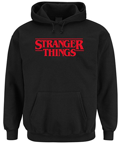 Stranger Things Hooded-Sweater Black Certified Freak
