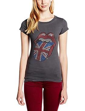 Rolling Stones Classic Tongue - Camiseta manga corta Mujer