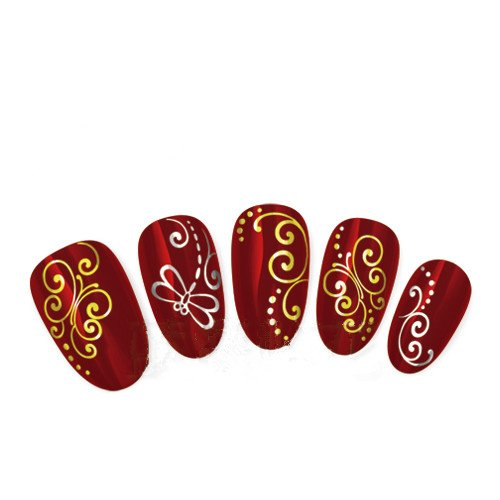 Come 2 Buy - Nail Art Tatoo/Wrap trasferimento dell' acqua
