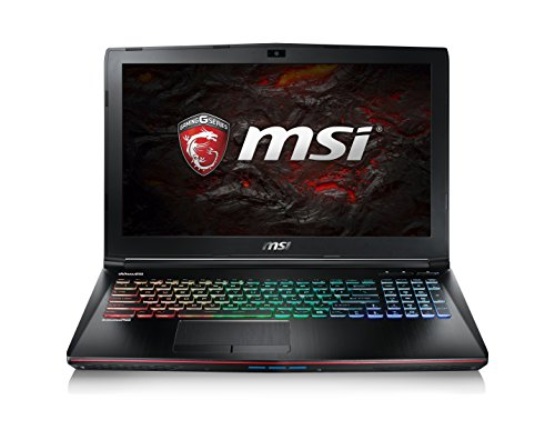 MSI Apache Pro GE62 7RE-213ES - Portátil de 15.6' FullHD IPS (Intel Core i7-7700HQ , 16 GB RAM, 256 GB SSD + 1 TB HDD, nVidia Geforce GTX1050 Ti 4 GB, Windows 10), negro - Teclado QWERTY Español