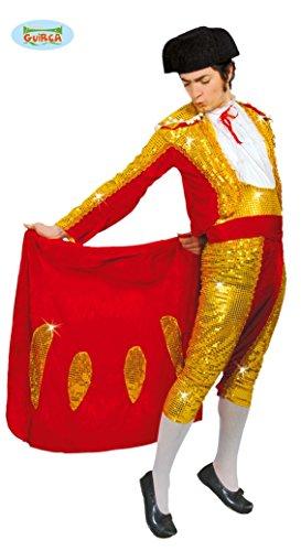 Torero Stierkämpfer - Kostüm f. Herren Karneval Fasching Arena Kampf Stier Gr. M - L, Größe:L (Stier Und Torero Kostüm)
