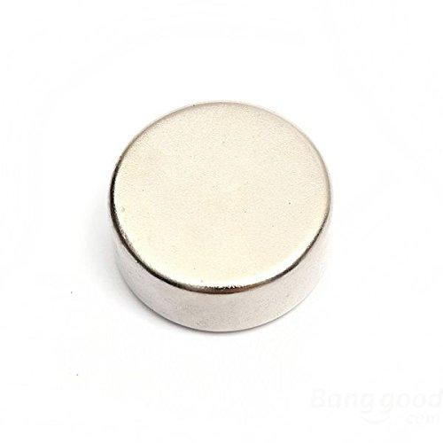 Magnetastico® | 2 pezzi magneti al neodimio N52 dischi 20x10 mm | Magneti molto forti | Supermagnete al neodimio Magnete permanente Calamita ultra forte