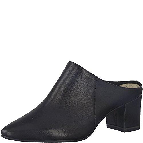 Tamaris 1-1-27355-30 Damen Pantolette, Clogs, Sandale, Sabot, Sommerschuhe für die modebewusste Frau schwarz (Black), EU 36
