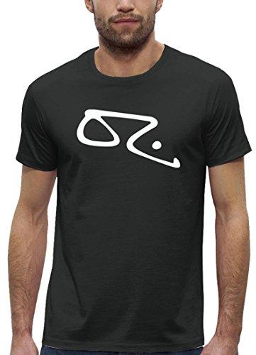 Graffiti Premium Herren T-Shirt aus Bio Baumwolle Sprayer Legende Oz Stanley Stella Anthrazite