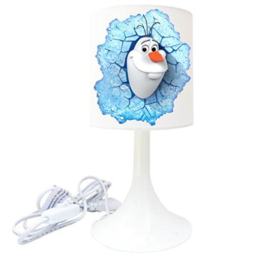 Nachttischlampe Schaffung von-Lampe Stellen Kinder-Eiskönigin (3)-Olaf (Nemo Ausschnitt)