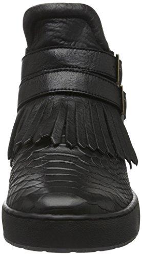 Cycleur de luxe Damen Ohio High-Top Mehrfarbig (Black+Gold)