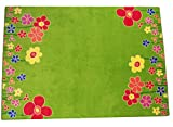Carpet for Kids  Kinderteppich Blumenwiese 140 x 200 cm