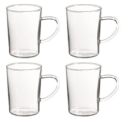 "Randwyck Teetasse Glas / Teeglas \""Sonja\"" 0,4 l, 4 Stk."