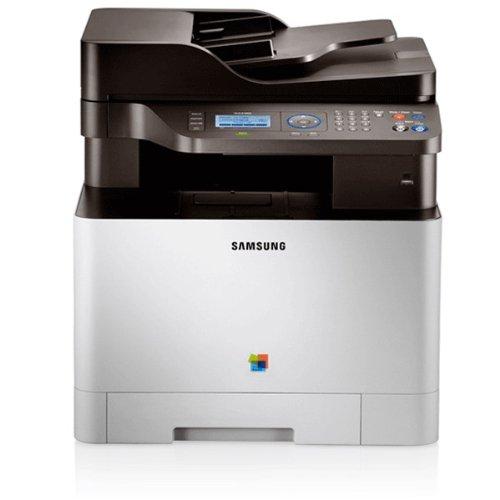 Samsung CLX-4195N/TEG Farblaser-Multifunktionsgerät (Drucken, Scannen, Kopieren, 9.600 x 600 dpi, 256 MB Speicher, 533 MHz Prozessor)
