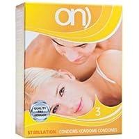 ON Stimulation, 3er Pack Kondome, 3 Stück preisvergleich bei billige-tabletten.eu