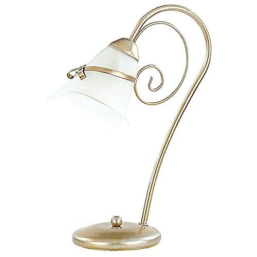 Designer Nacht Tischleuchte Barock Lampe Retro Tisch Leuchte Hotel Büro E14 Power LED Sheffield 5