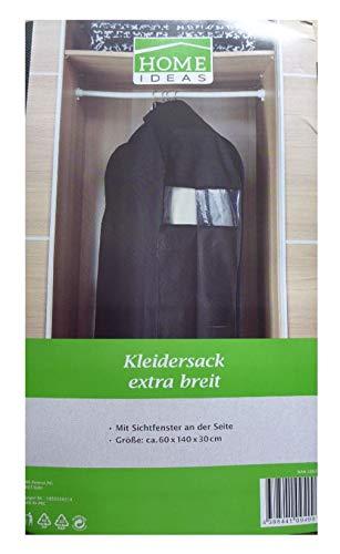 Kleidersack extra breit 60 x 140 x 30 cm Sichtfenster