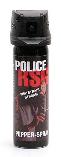 RSG-Police Pfefferspray 63 ml - Weitstrahl Abwehrspray (12063-S)
