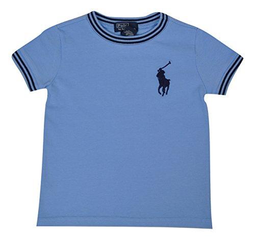 Polo Ralph Lauren Baby Jungen (0-24 Monate) T-Shirt, Blau 12 Monate