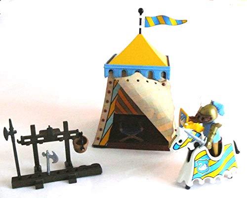 playmobil ® - Schwanen Ritter - Schwanenritter mit Turnierzelt, Pferd und Waffenständer