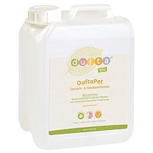 dufta 132500 'DuftaPet' bio Geruchs- & Fleckenentferner Kanister (2500 ml)