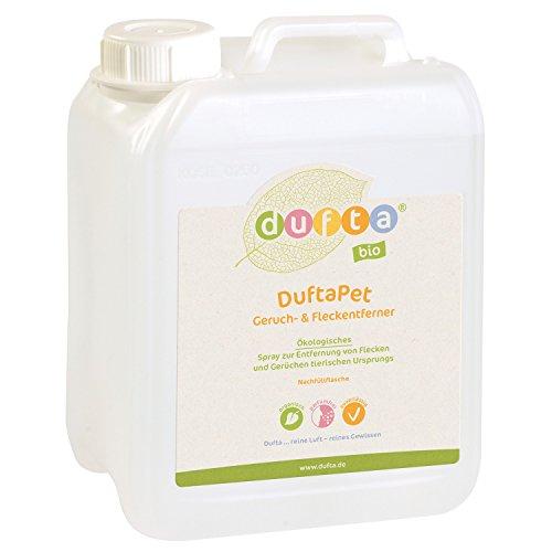 dufta 132500 \'DuftaPet\' bio Geruchs- & Fleckenentferner Kanister (2500 ml)