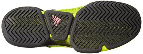 adidas Herren Adizero Ubersonic Turnschuhe Schwarz / Grün / Pink (Negbas / Seliso / Rosimp)
