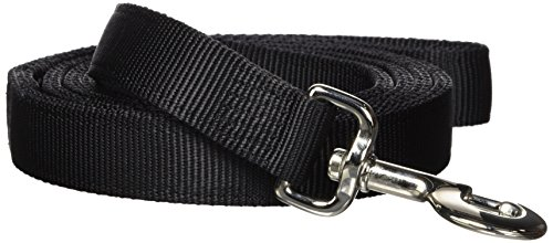 Artikelbild: Hamilton Double Thick Nylon Dog Training Lead, 1-Inch by 6-Feet, Black