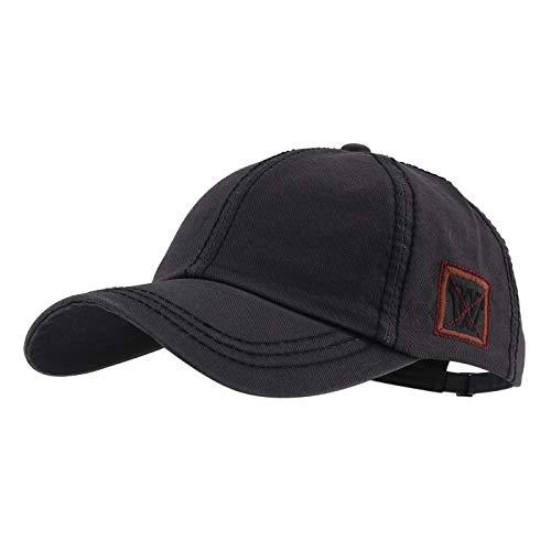 Gisdanchz Männer Basecap Baseball Cap Herren Profile Design Sommer Baseballcap Golf Männer Baseballkappe Damen Mütze Kappe Base Cap Men Dad Hat Women Polo Hats Grau -