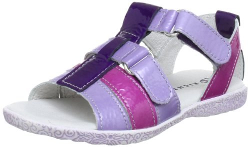 Richter Kinderschuhe 5004-11-1201, Sandales fille Violet (Lavender/Babypink/Plum 4001)