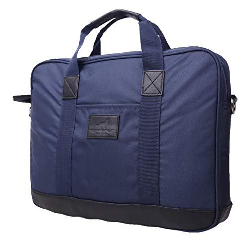 Nylon Laptop Aktentasche Blau Blau One Size - New York-slim Briefcase
