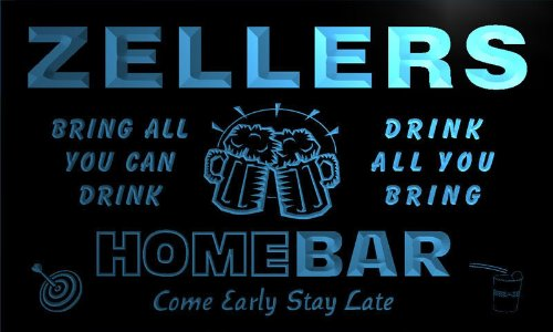 q49714-b-zellers-family-name-home-bar-beer-mug-cheers-neon-light-sign