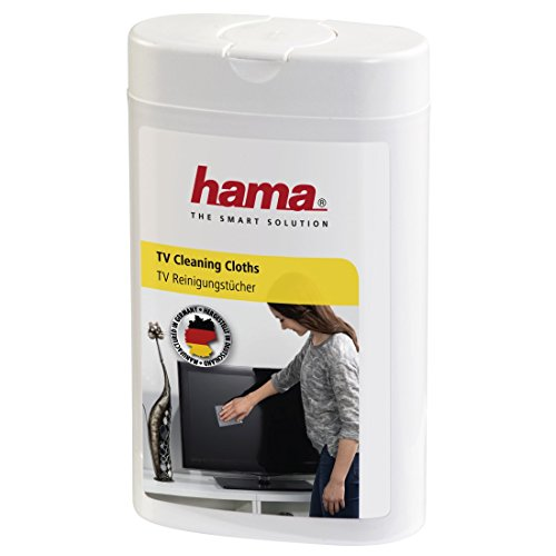 Hama - LCD/Plasma Cleaning Cloths, 100 pieces, 120 x 80 mm