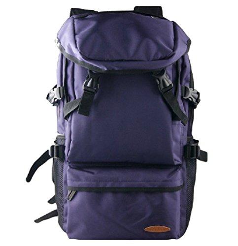 ZKOO Sac à dos Nylon Grande Capacité Escalade Voyage Sac à dos Imperméable Portable Cartable Sac d école BackPack