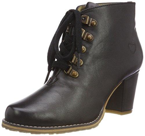 Spieth & Wensky Damen 482 D Irmtraud-Stiefel Stiefeletten, Schwarz 2001, 41 EU