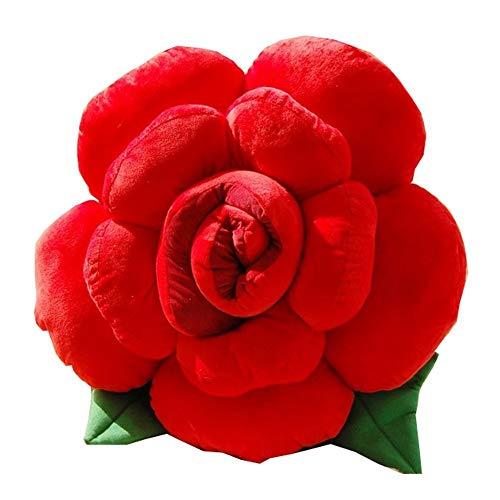 Emmala Suave Encantador Novedad Color Rosa Casual Chic Forma De Flor Cama...