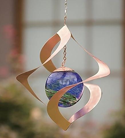Suspension lumineuse spirale