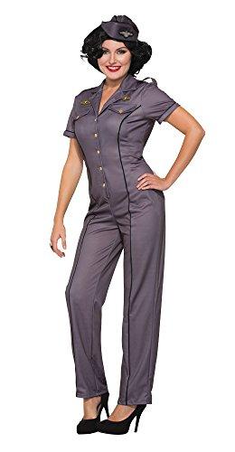 Forum Novelties x76687Air Force Anna 1940er-Kostüm (UK 10–12)