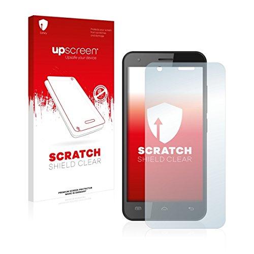 upscreen Scratch Shield Clear Bildschirmschutz Schutzfolie für Oukitel C2 (hochtransparent, hoher Kratzschutz)